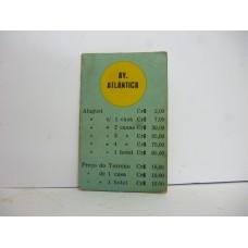 Estrela Banco Imobiliário carta Av. Atlântica 1950/1960