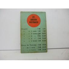 Estrela Banco Imobiliário carta Av. Jardim Botânico 1950/1960