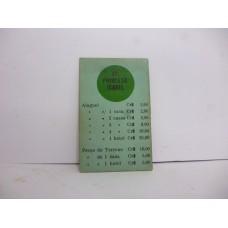 Estrela Banco Imobiliário carta Av. Princesa Isabel 1950/1960