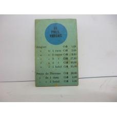 Estrela Banco Imobiliário carta Av. Pres. Vargas 1950/1960
