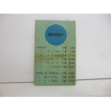 Estrela Banco Imobiliário carta Botafogo 1950/1960