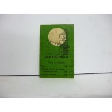 Estrela Banco Imobiliário carta Eletrobrás 1950/1960