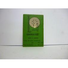 Estrela Banco Imobiliário carta Embratel 1950/1960